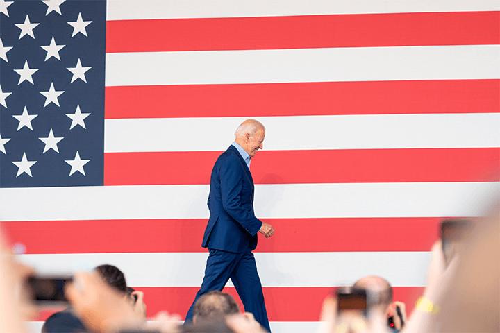 Presidente Joe Biden do Governo Americano