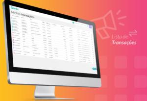 Lista de transações